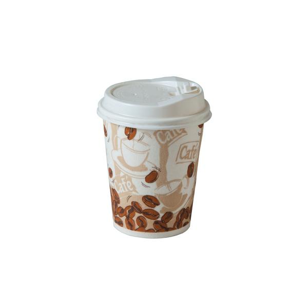 Одноразовый стакан 230 мл для горячего кофе - JUM